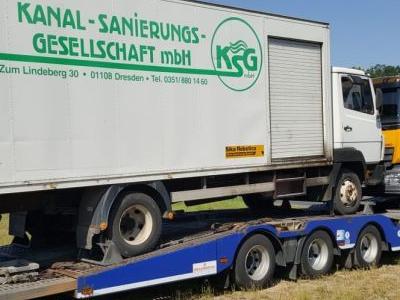 samochód ciężarowy z ładunkiem 7